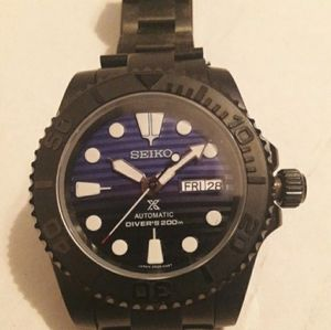 Custom 40mm seiko submariner yatchmaster MOD NH36